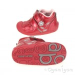 Start-rite Go Infant Girls Red Patent Boot