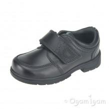 Start-rite Accelerate Boys Black School Shoe