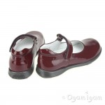 Primigi Andes Bordo Girls Bordo Patent Red Shoe