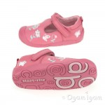 Start-rite Darcy-Bow Infant Girls Pink Shoe 03846