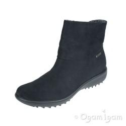 Romika Nadja 101 Womens Black Waterproof Ankle Boot