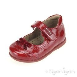 Garvalin 131310 Girls Red Shoe