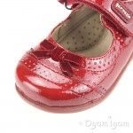 Garvalin 131310 Girls Red Shoe