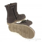 Garvalin 131526 Boys Taupe Buckle Boot