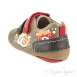 Garvalin 131304 Infant Boys Taupe Shoe