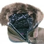 Start-rite Aqua Fur Girls Brown Waterproof Boot