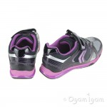 Geox Magica Girls Black/Violet Trainer
