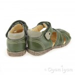 Primigi Lars-E Boys Bosco Green Sandal