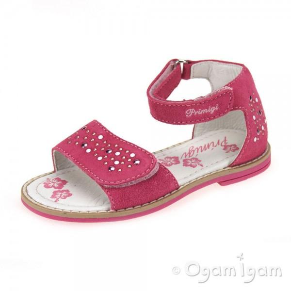 Primigi Aamina Girls Fragola Pink Sandal