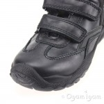 Primigi Serse Boys Black School Shoe