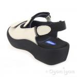 Wolky Jewel Womens Linen Sandal