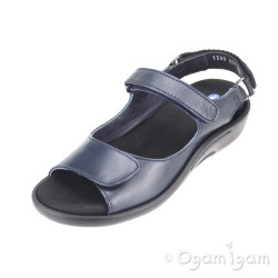 Wolky Salvia Womens Dark Blue Sandal