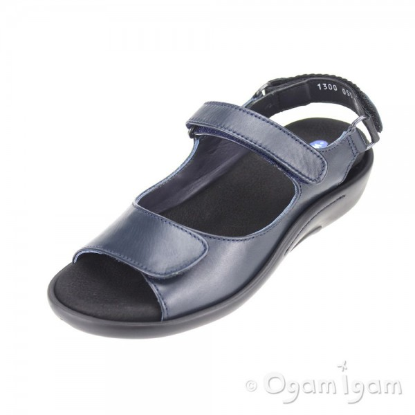 Wolky Salvia Womens Dark Blue Sandal