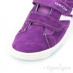 Geox Mania Purple Girls Purple Shoe