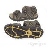 Geox Strada Boys Light Brown Sandal