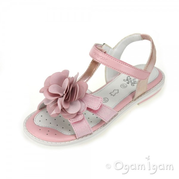 Geox Giglio Girls Rose Sandal