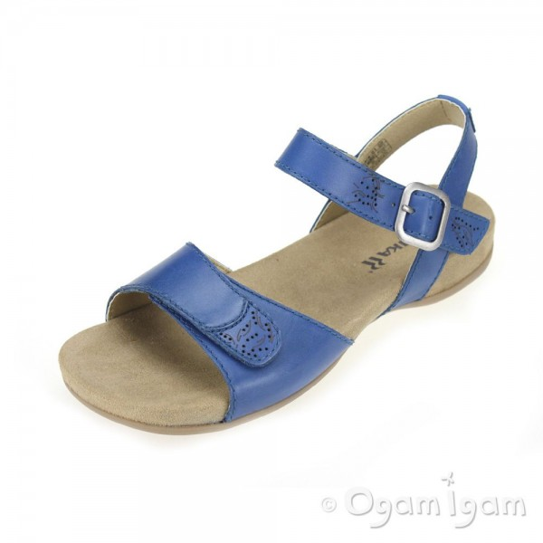 Romika Barbara 101 Womens Kobalt Sandal