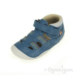 Start-rite Reed Infant Boys Blue Sandal
