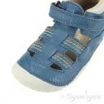 Start-rite Reed Infant Boys Blue Sandal