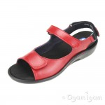 Wolky Salvia Womens Red Sandal