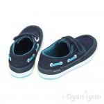 Start-rite Coast Boys Denim Canvas Shoe