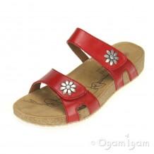 Josef Seibel Tonga 04 Womens Red Sandal