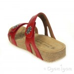 Josef Seibel Tonga 04 Womens Red Sandal