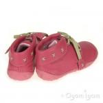 Start-rite Home Spun Infant Girls Pink Shoe