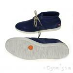 Softinos Tim Mens Blue Shoe