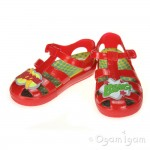 Garvalin 142800 Boys Red Water-friendly Jelly Sandal