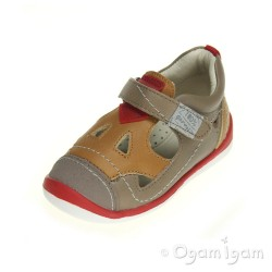 Garvalin 142335 Infant Boys Beige Brown Shoe