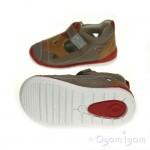 Garvalin 142335 Infant Boys Beige Brown Shoe
