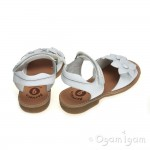Garvalin 142420 Girls White Sandal