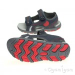 Garvalin 142811 Boys Grey Sandal
