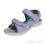 Primigi Berenice Girls Lilac/Aqua Sandal