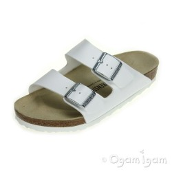 Birkenstock Arizona Womens White Sandal