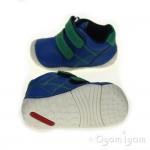 Start-rite Baby Milan Infant Boys Blue Shoe
