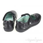Start-rite Princess Serena Girls Black School Shoe