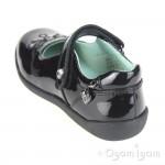 Start-rite Princess Serena Girls Black Patent School Shoe