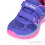 Skechers Synergy Lil Softy Girls Purple/Multi Trainer