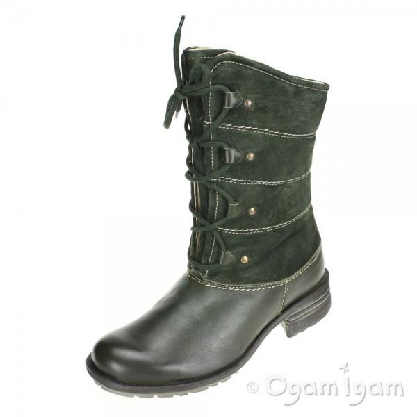 Josef Seibel New Palmira Womens Forest Green Boot