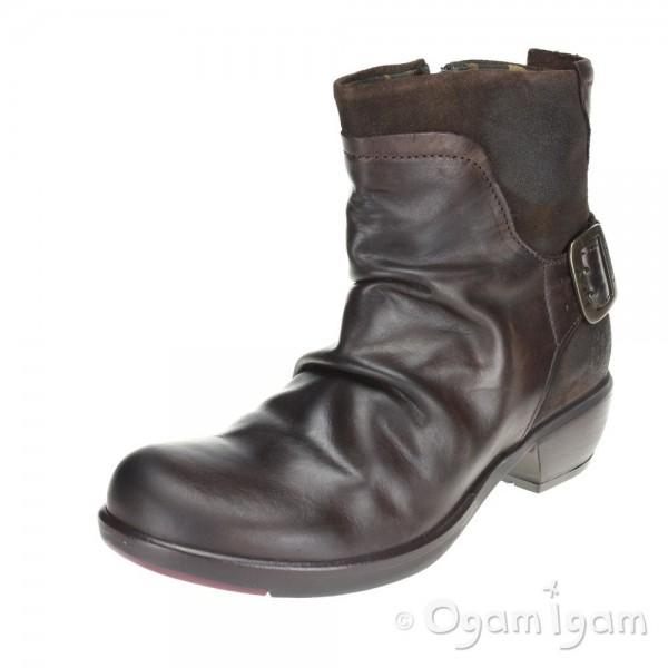 Fly London Mel Womens Dark Brown Boot