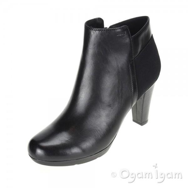 Geox Inspirat Womens Black Boot