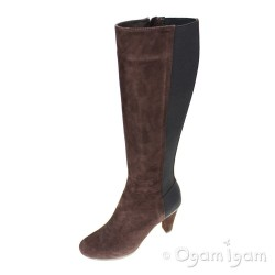 Geox Inspiration Coffee Womens Coffee Boot