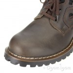 Josef Seibel Case Mens Brasil/Etrusco Brown Waterproof Boot