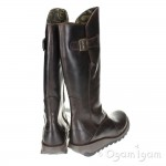 Fly London Mol 2 Womens Dark Brown Boot