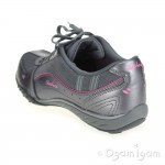 Skechers Breathe Easy Take Ten Womens Gun Grey Trainer