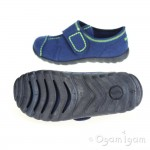 Superfit 0030488 Boys Water Blue Slipper