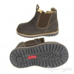 Primigi Lauren Boys Marrone Scuro Brown Boot