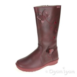 Garvalin 141621 Girls Burdeos Red Boot
